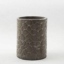 Dekorácie - Váza (vareškár) v kameni. Výška 10,5 cm - 10553305_
