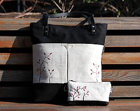 Veľké tašky - taška Natural šípky - 10553917_