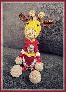 Hračky - Žirafa Elie - 10552875_