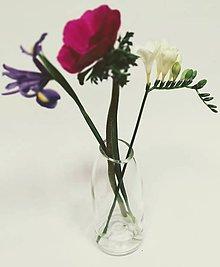 Pomôcky - Radostná práca: Váza zrezaná šikmo - 10555089_