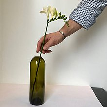Pomôcky - Radostná práca: Váza zrezaná rovno - 10555150_