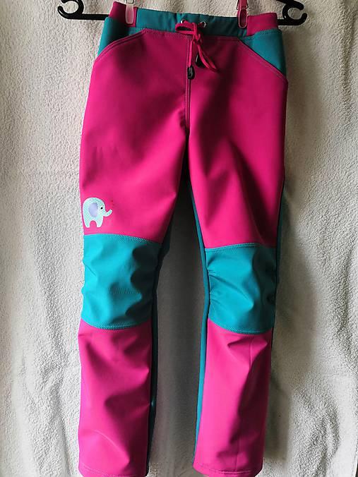 a7367ec128b0 Dievčenské softshellové nohavice   Tinka82 - SAShE.sk - Handmade ...