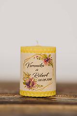 Darčeky pre svadobčanov - Menovka alebo darček pre svadobčanov - Točené -Vzor č.28 - 10553006_