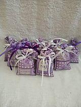 Úžitkový textil - Levanduľové vrecúško - 10555770_