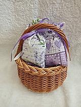 Úžitkový textil - Levanduľové vrecúško - 10555771_
