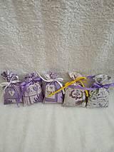 Úžitkový textil - Levanduľové vrecúško - 10555772_