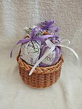 Úžitkový textil - Levanduľové vrecúško - 10555774_