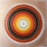 Mandala PROSPERITA (gold) 60 x 60