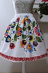 Dámska ľudová sukňa...