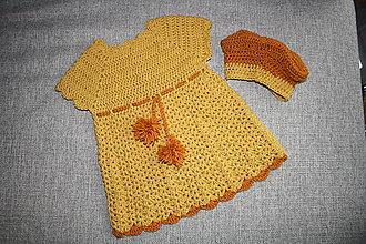 Detské oblečenie - Dievčenské šatičky - 10553873_