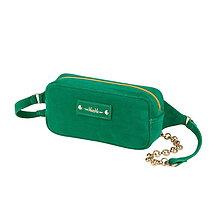 Kabelky - Pásová taška/ľadvinka MAVERA (Zelená) - 10553529_