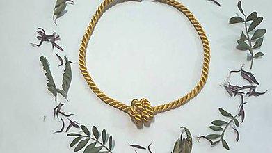 Náhrdelníky - Uzlový náhrdelník - Uzlíček - 10553365_