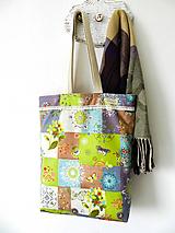 Nákupné tašky - trochu boho taška s čipkou II. - 10554899_