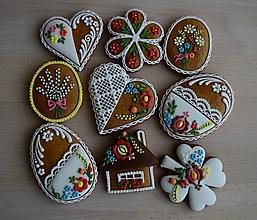 Dekorácie - Veľkonočné medovníky n°1 - 10555571_