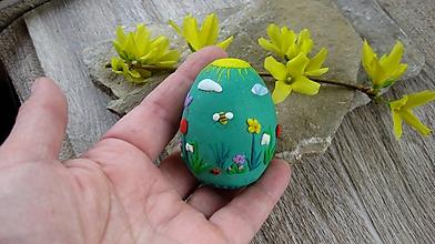 Dekorácie - Veľkonočné vajíčko modelované, č. 2600 - 10554780_
