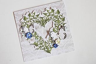 Papiernictvo - Svadobná pohľadnica - 10555989_