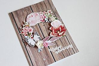 Papiernictvo - Svadobná pohľadnica - 10556005_