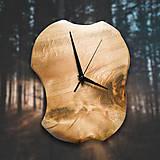 Hodiny - Drevené dekoračné hodiny - RAW Poplar 1 - 10555762_