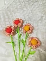 Dekorácie - Kvety - látkové - 10553077_