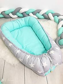 Textil - HNIEZDO pre bábätka - 10555901_