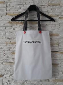 Nákupné tašky - Introvertka - 10553781_