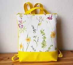 Batohy - batoh/jarné kvety - 10554570_