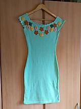 Šaty - Romantické šaty Angela  kvietkami - 10555580_