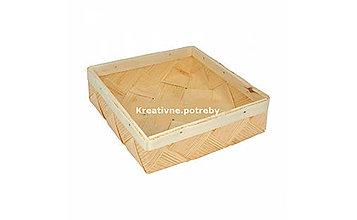 Polotovary - Košík 19,5x19,5cm - 10555456_