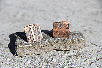 """Šperky - Manžetové gombíky """"Elegancia"""" - 10558408_"""