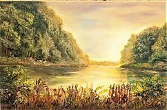Obrazy - Pokojná hladina - 10556615_