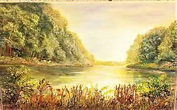 Obrazy - Pokojná hladina - 10556618_