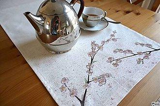 Úžitkový textil - Keď kvitnú Sakury - 10556699_