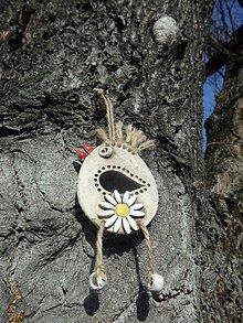 Dekorácie - DSS Integra: Veľkonočný vtáčik na zavesenie - 10558204_