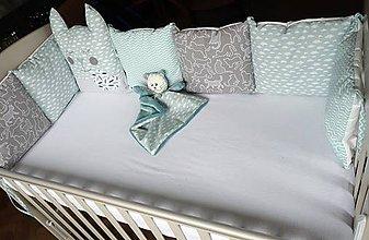 Textil - Mantinel do postieľky Nr.708 - 10559074_