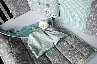 Textil - Súprava do postieľky Nr.803 - 10559164_