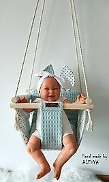 Detské doplnky - Hojdačka pre najmenších - 10560042_