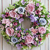 Dekorácie - Veniec na dvere ...radosť na každý deň... - 10557106_