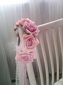 Ozdoby do vlasov - Parta svadobná ...šťastný život... - 10556495_