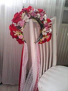 Ozdoby do vlasov - Parta svadobná ... láska ... - 10556640_
