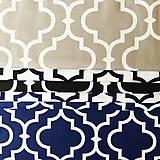 Textil - Orient; 100 % bavlna, šírka 160 cm, cena za 0,5 m (sivo-biela) - 10557823_