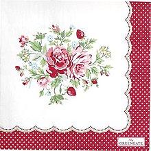 Papier - Servitka G 103 - Mary white - 10558134_