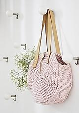 Okrúhla taška/kabelka - ružová
