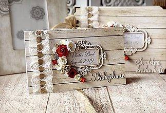 Papiernictvo - Svadobná pohľadnica obálka - 10556375_
