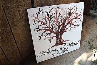 Obrazy - Svadobný strom 40x40 - 10559533_