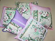 Úžitkový textil - vankúš - romantika - 10557635_