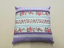 Úžitkový textil - vankúš lila - 10558797_