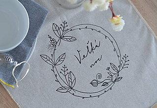 Úžitkový textil - štóla veľkonočná venček - 10557135_