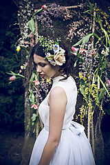 """Ozdoby do vlasov - Kvetinová boho sponka """"dotyky neklamú"""" - 10558867_"""