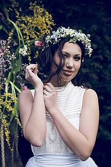 """Ozdoby do vlasov - Kvetinová aplikácia """"nadýchnúť sa nového dňa"""" - 10557363_"""