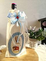 Úžitkový textil - Vrecko na Veľkú Noc ozdobené dekupážem - 10556623_
